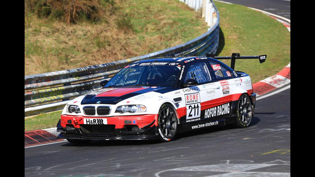 VLN - Nürburgring Nordschleife - Startnummer #211 - BMW M3 CSL E46 - Hofor Racing - SP6
