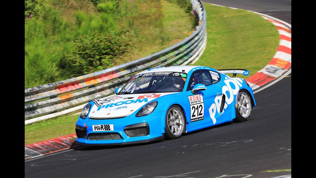 VLN - Nürburgring Nordschleife - Startnummer #212 - Porsche Cayman GT4 CS - PROOM racing - SP6