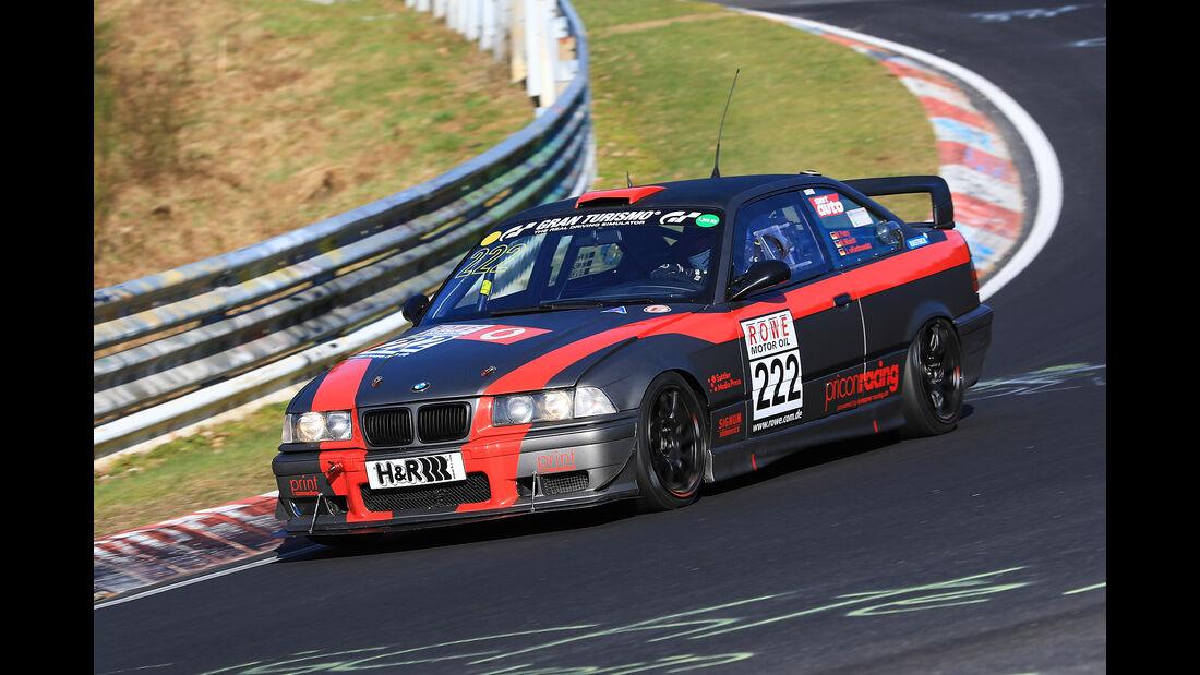 VLN - Nürburgring Nordschleife - Startnummer #222 - BMW 325i e36 - SP5