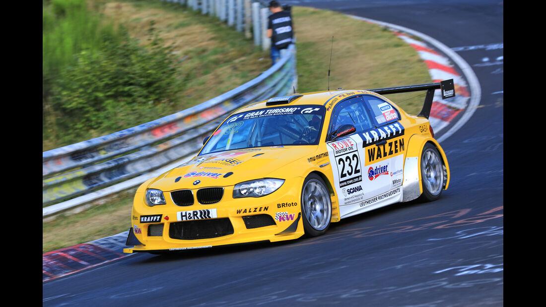VLN - Nürburgring Nordschleife - Startnummer #232 - BMW 1er M Coupe - Leutheuser Racing & Events