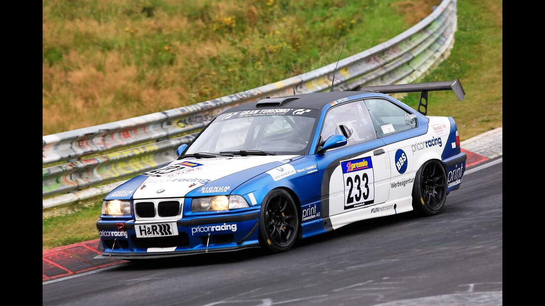 VLN - Nürburgring Nordschleife - Startnummer #233 - BMW E36 M3 - SP5