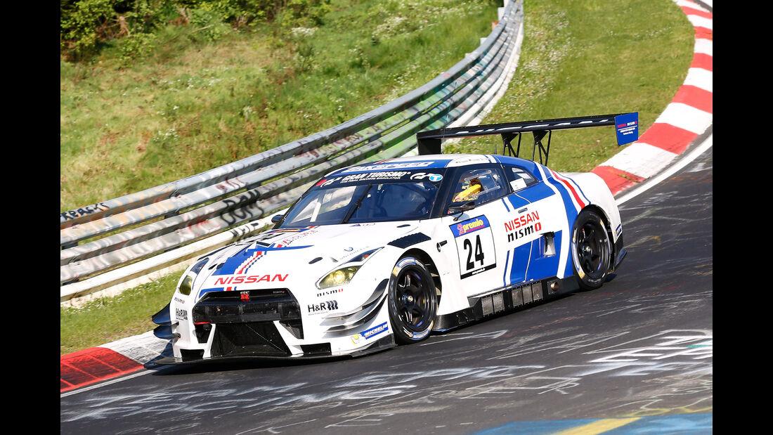 VLN - Nürburgring Nordschleife - Startnummer #24 - Nissan GT-R Nismo GT3 - SP9