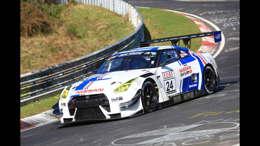 VLN - Nürburgring Nordschleife - Startnummer #24 - Nissan GT-R Nismo GT3 - Team Zakspeed - SP9