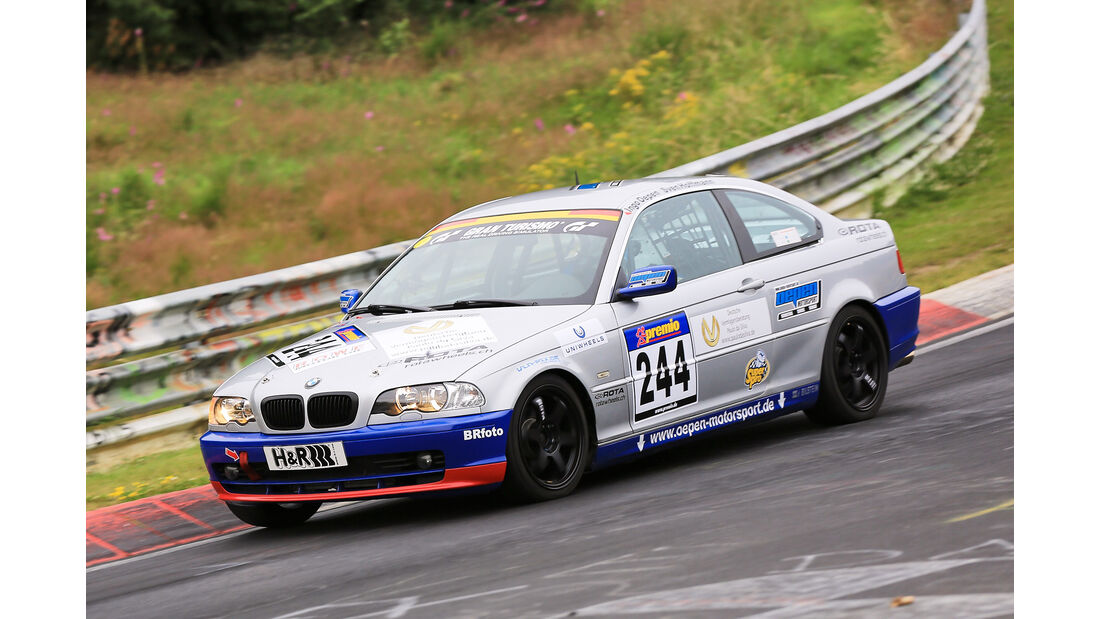 VLN - Nürburgring Nordschleife - Startnummer #244 - BMW E46 325CI - SP4