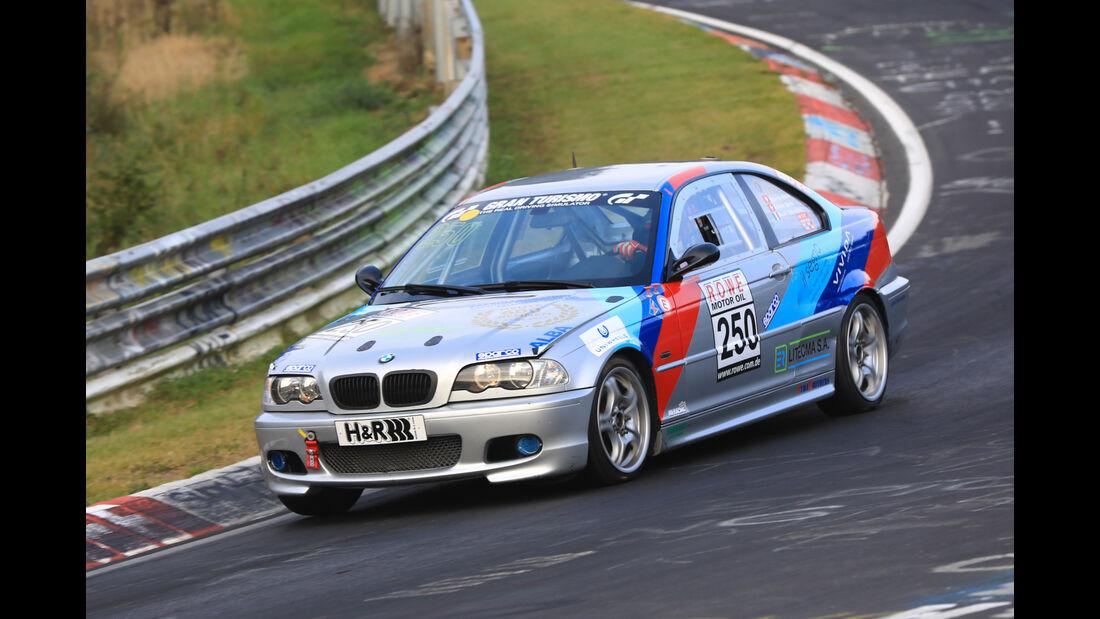 VLN - Nürburgring Nordschleife - Startnummer #250 - BMW 325 Ci Coupé - Simoncini Mauro - SP4