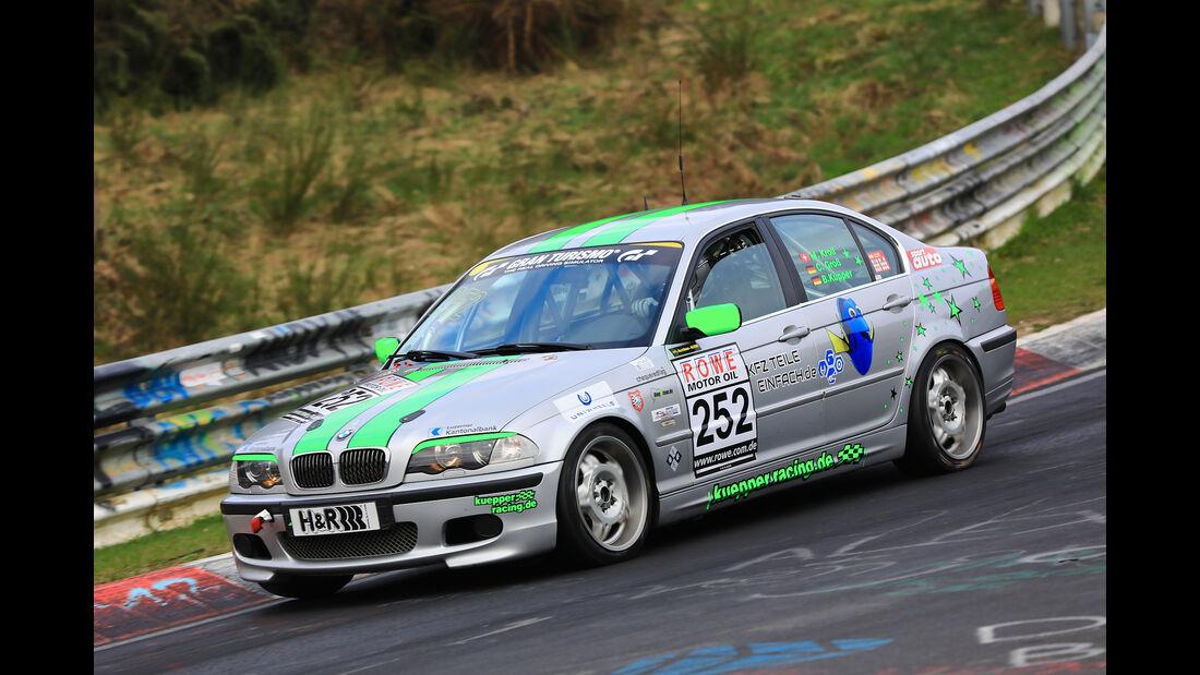 VLN - Nürburgring Nordschleife - Startnummer #252 - BMW E46 325i - Hofer Racing - SP4