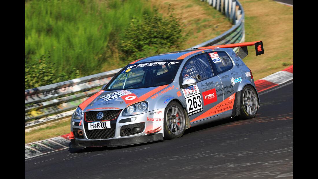 VLN - Nürburgring Nordschleife - Startnummer #263 - VW Golf V GTI R - MSC Sinzig - SP4T