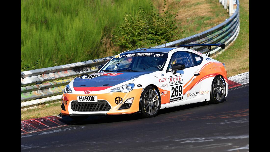 VLN - Nürburgring Nordschleife - Startnummer #269 - Toyota GT86 - Pit Lane - AMC Sankt Vith