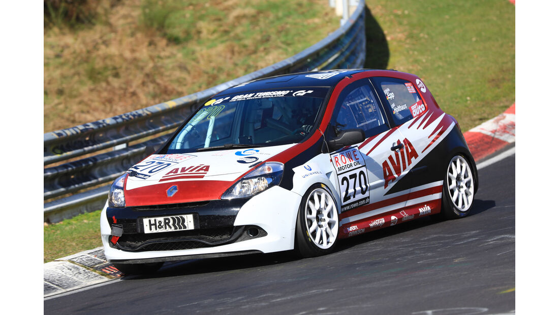VLN - Nürburgring Nordschleife - Startnummer #270 - Renault Clio RS - AVIA Racing - SP3