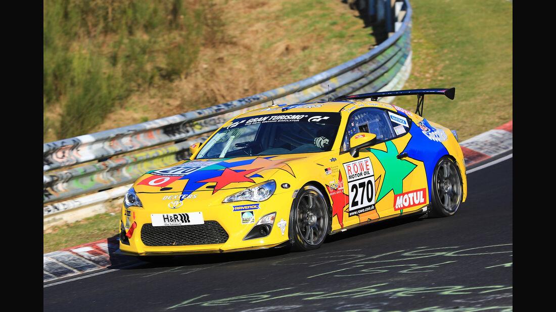 VLN - Nürburgring Nordschleife - Startnummer #270 - Toyota GT86 - Pit Lane - AMC Sankt Vith - SP3