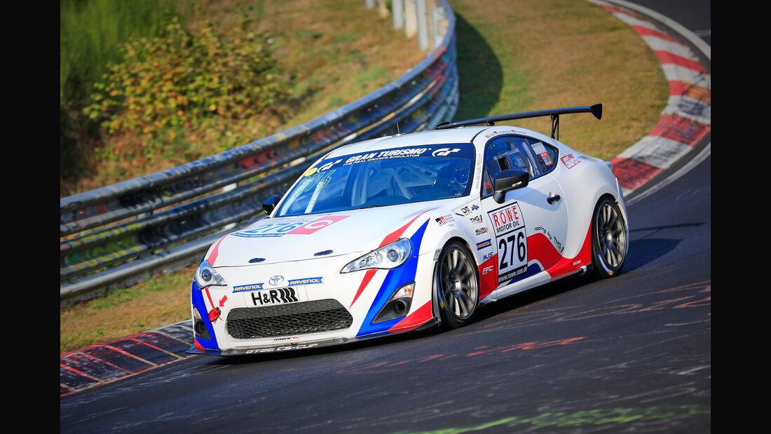 VLN - Nürburgring Nordschleife - Startnummer #276 - Toyota GT86 - Team 9 und 11 - SP3