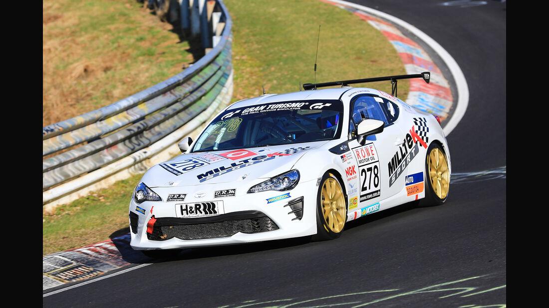 VLN - Nürburgring Nordschleife - Startnummer #278 - Toyota GT86 - SP3