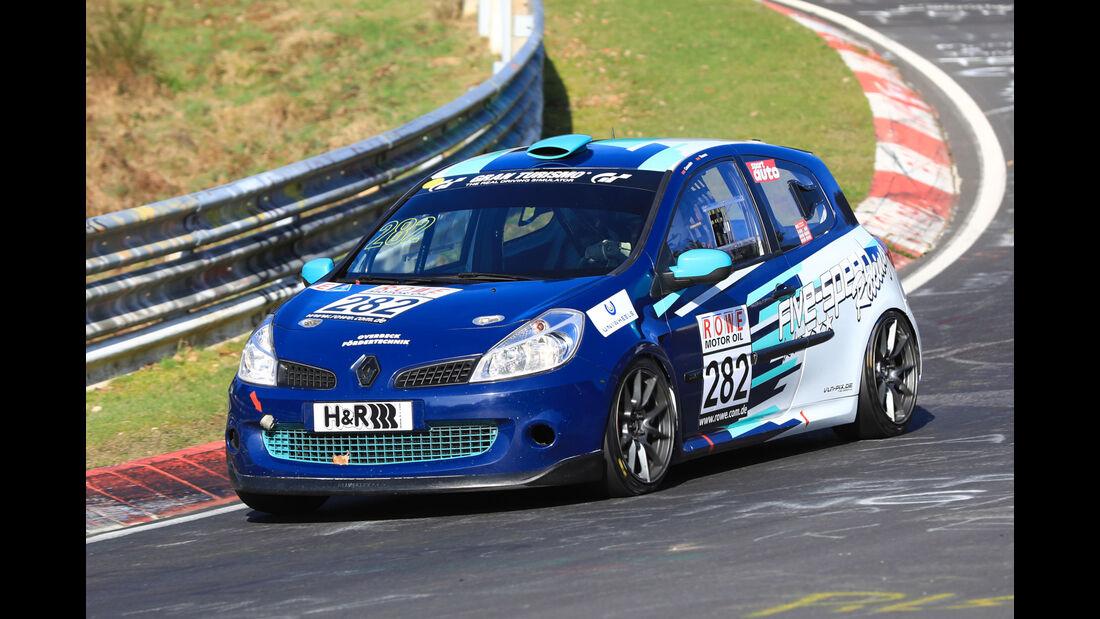 VLN - Nürburgring Nordschleife - Startnummer #282 - Renault Clio RS - SP3