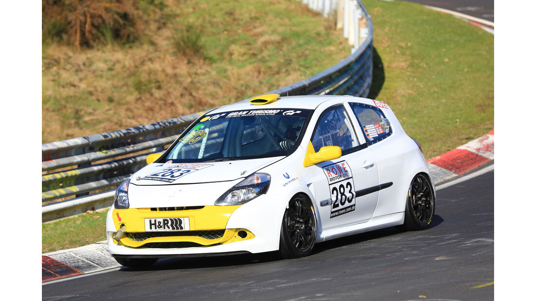VLN - Nürburgring Nordschleife - Startnummer #283 - Renault Clio RS - SP3