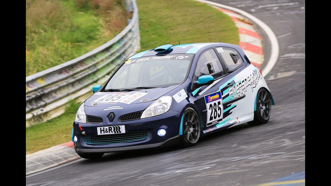 VLN - Nürburgring Nordschleife - Startnummer #285 - Renault Clio RS - SP3