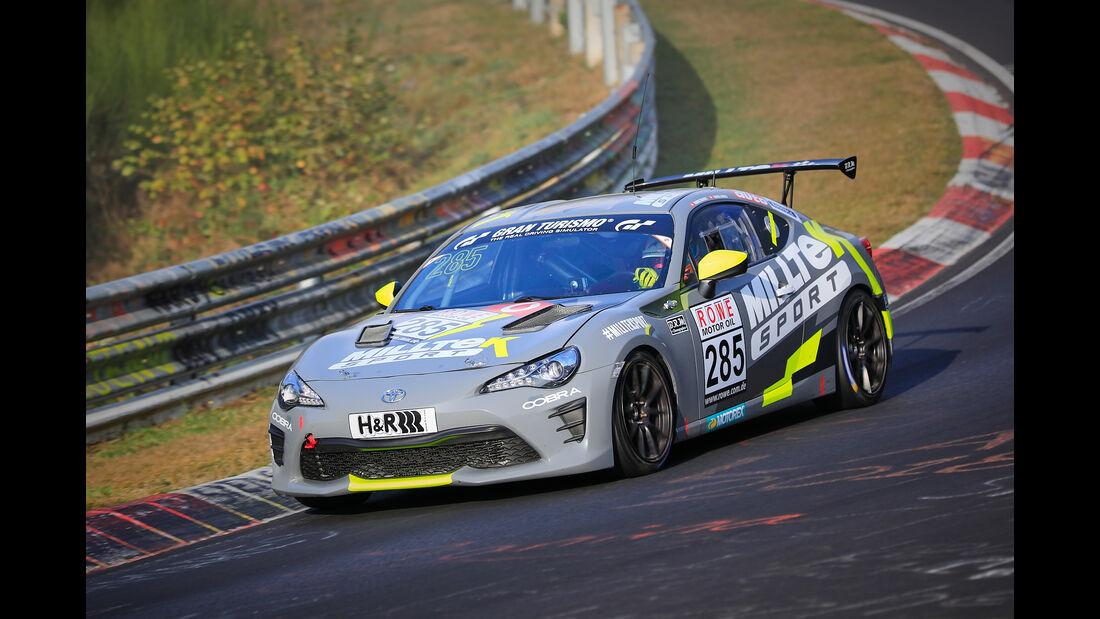 VLN - Nürburgring Nordschleife - Startnummer #285 - Toyota GT86 - Manheller Racing - SP3