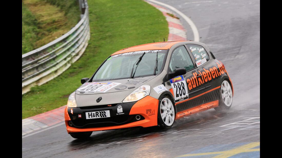 VLN - Nürburgring Nordschleife - Startnummer #288 - Renault Clio RS 2.0 - SP3
