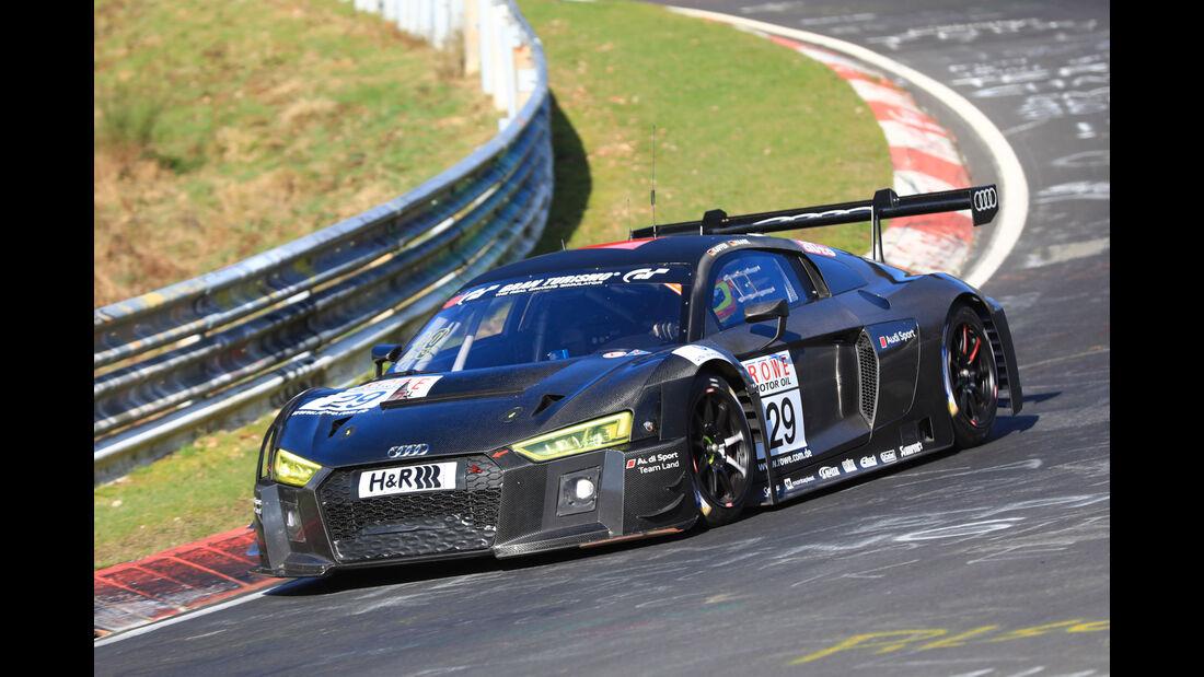 VLN - Nürburgring Nordschleife - Startnummer #29 - Audi R8 LMS - Audi Sport Team Land - SP9