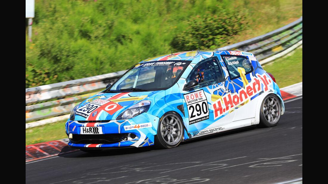 VLN - Nürburgring Nordschleife - Startnummer #290 - Renault Clio SRT - SP3