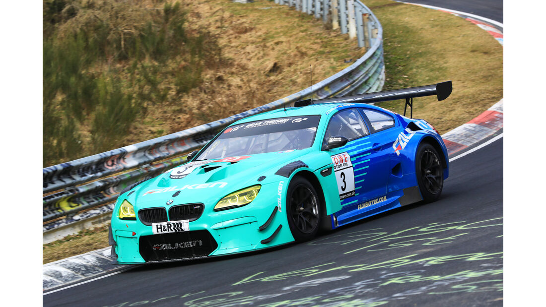 VLN - Nürburgring Nordschleife - Startnummer #3 - BMW M6 GT3 - Falken Motorsports - SP9 PRO