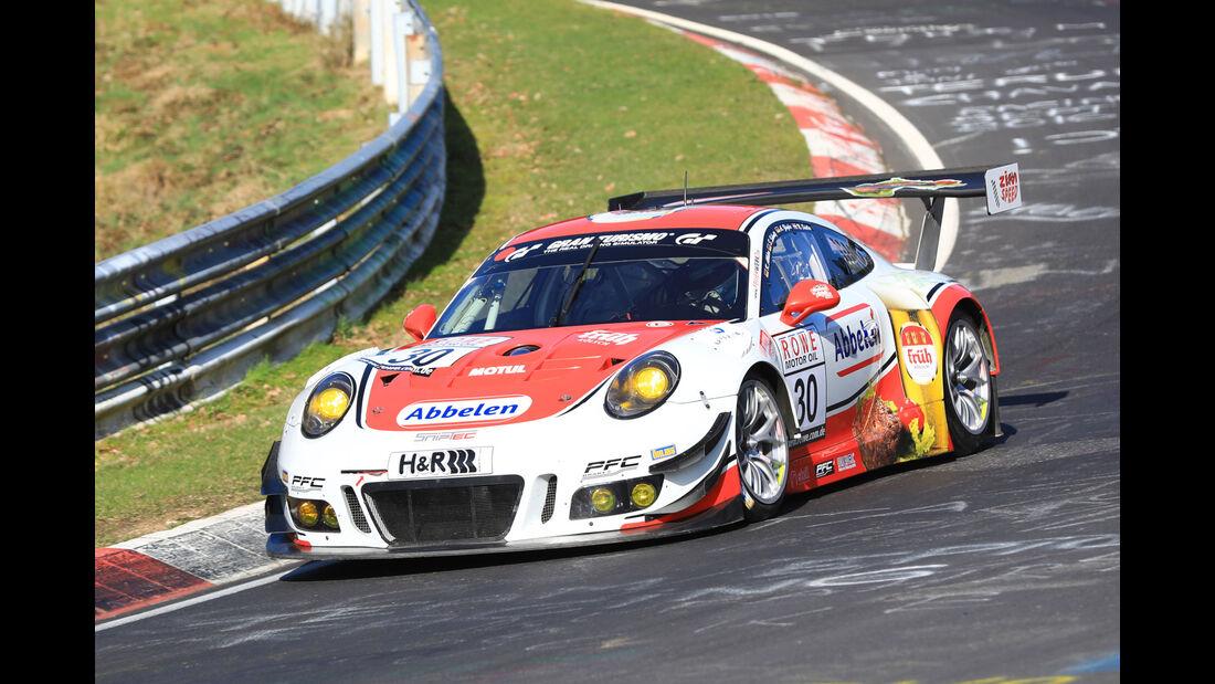 VLN - Nürburgring Nordschleife - Startnummer #30 - Porsche 911 GT3 R - Frikadelli Racing Team - SP9