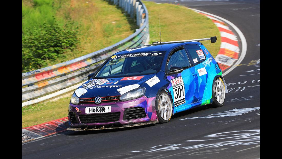 VLN - Nürburgring Nordschleife - Startnummer #301 - Volkswagen Golf GTI VI Cup - SP3T