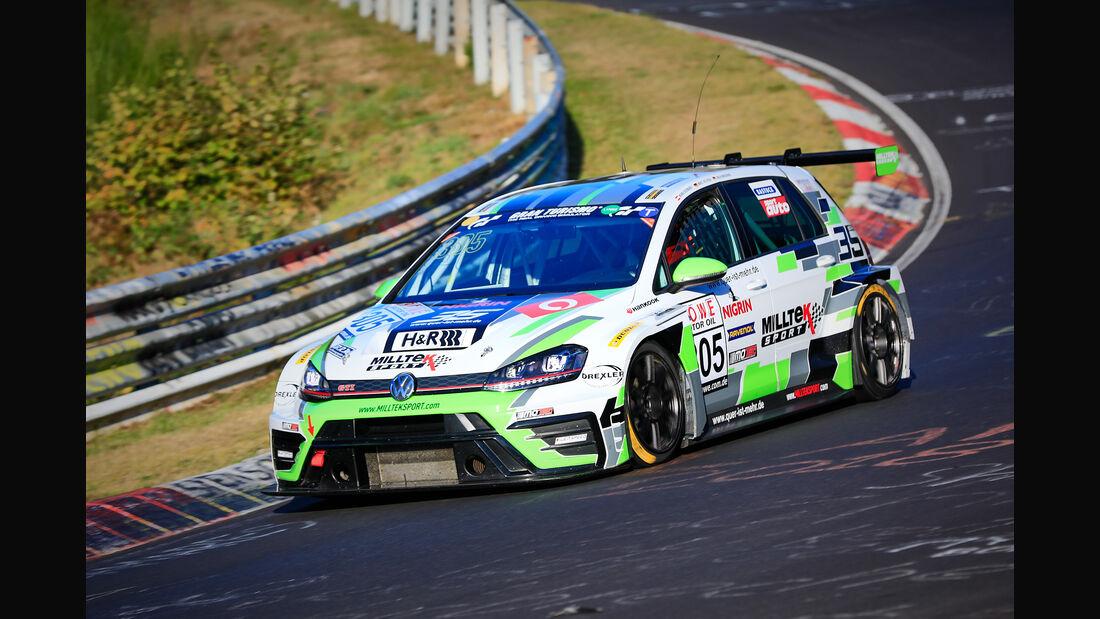 VLN - Nürburgring Nordschleife - Startnummer #305 - VW Golf GTI TC - Team NIGRIN Motorsport - SP3T