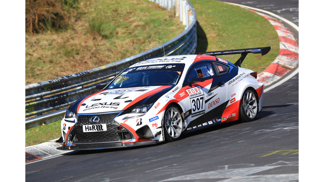 VLN - Nürburgring Nordschleife - Startnummer #307 - Lexus RC - Toyota Gazoo Racing - SP3T