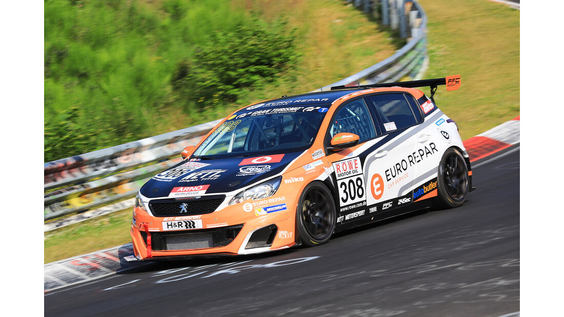 VLN - Nürburgring Nordschleife - Startnummer #308 - Peugeot 308 Racing Cup - Bonk Motorsport KG - SP2T