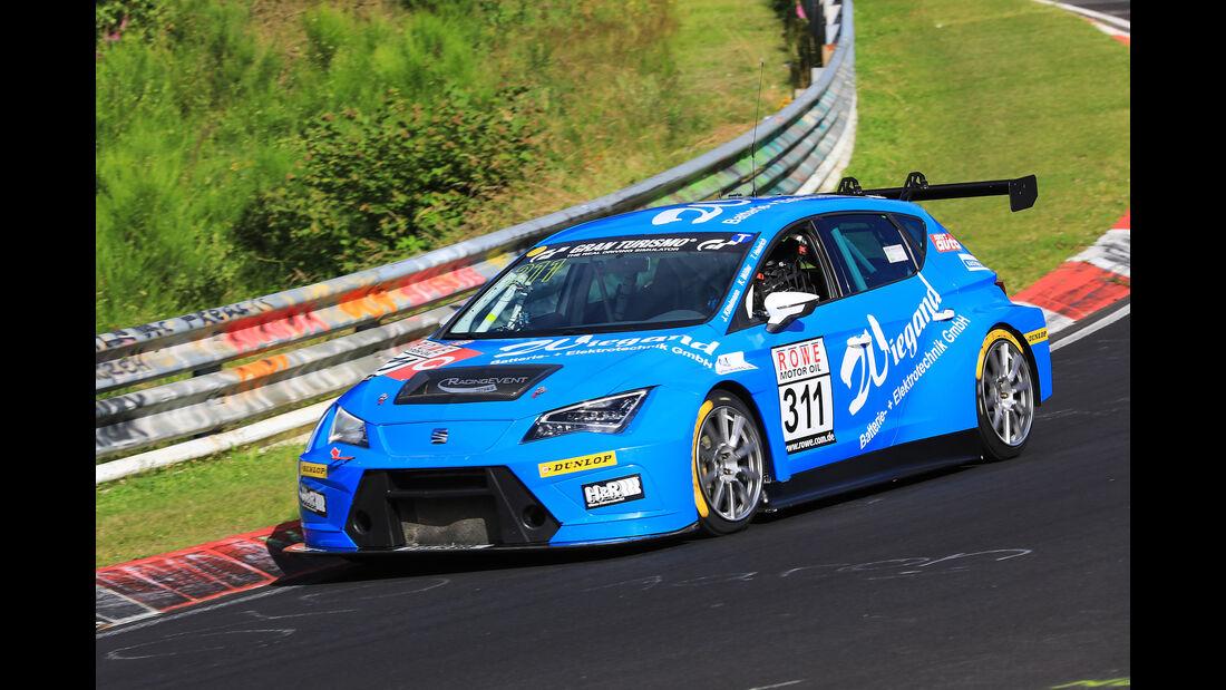 VLN - Nürburgring Nordschleife - Startnummer #311 - Seat Cup Racer - Fanclub Mathol Racing e.V - SP3T