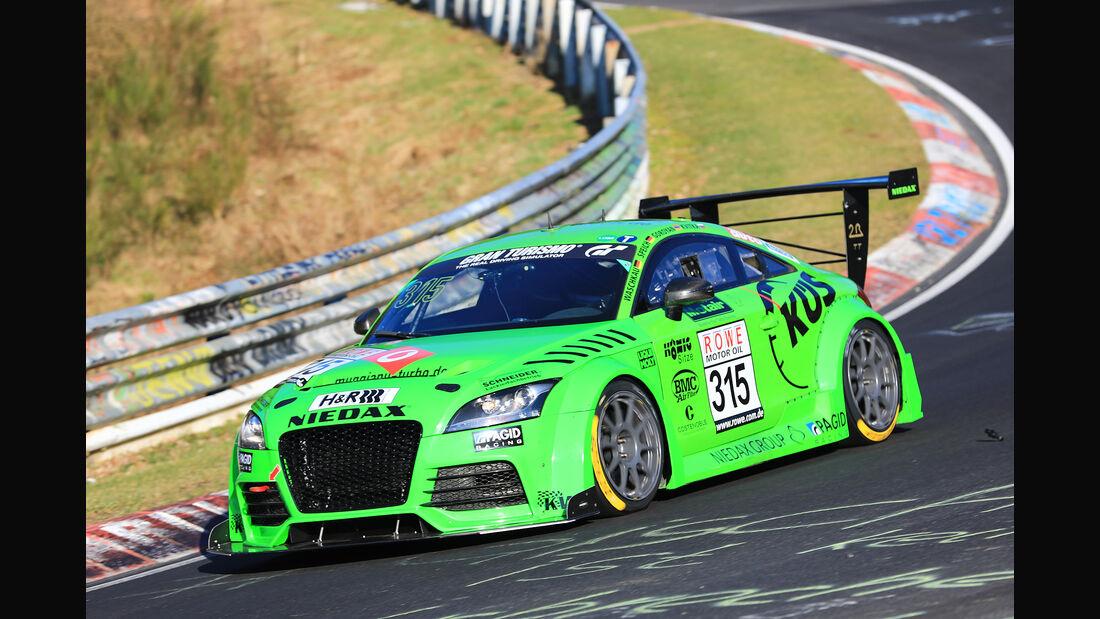 VLN - Nürburgring Nordschleife - Startnummer #315 - Audi TT 2R - MSC Sinzig e.V. im ADAC - SP3T