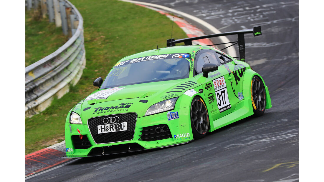 VLN - Nürburgring Nordschleife - Startnummer #317 - Audi TTS - MSC Sinzig e.V. im ADAC - SP3T