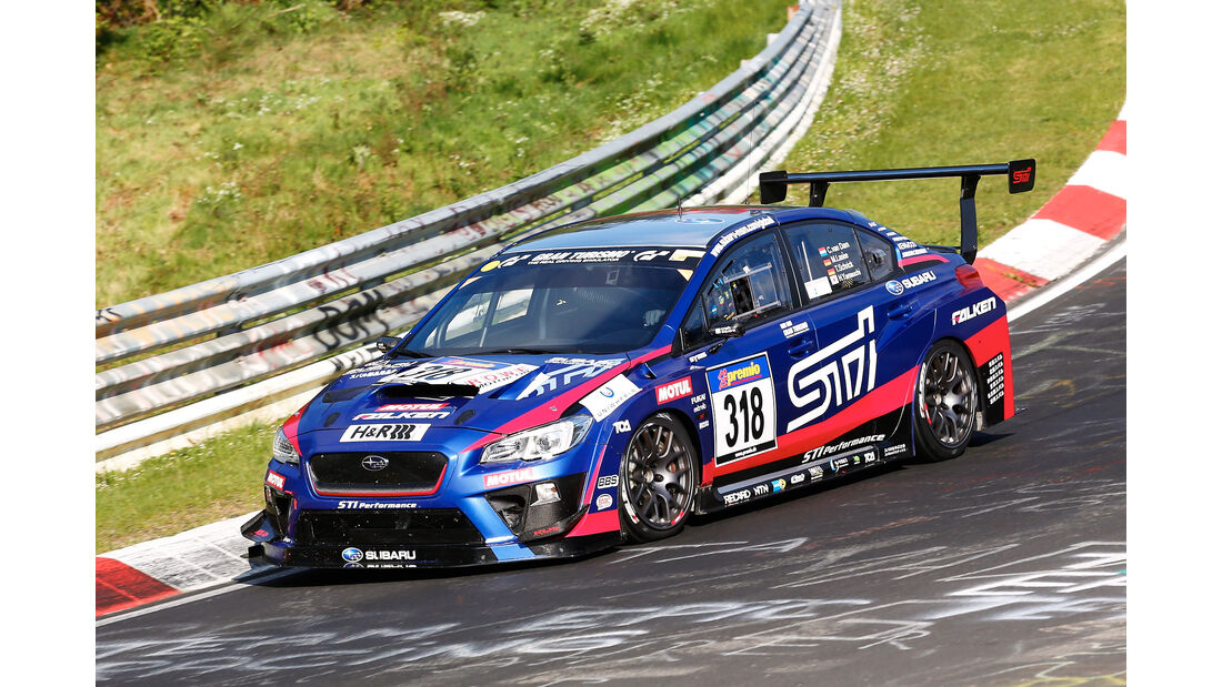 VLN - Nürburgring Nordschleife - Startnummer #318 - Subaru WRX STI - SP3T