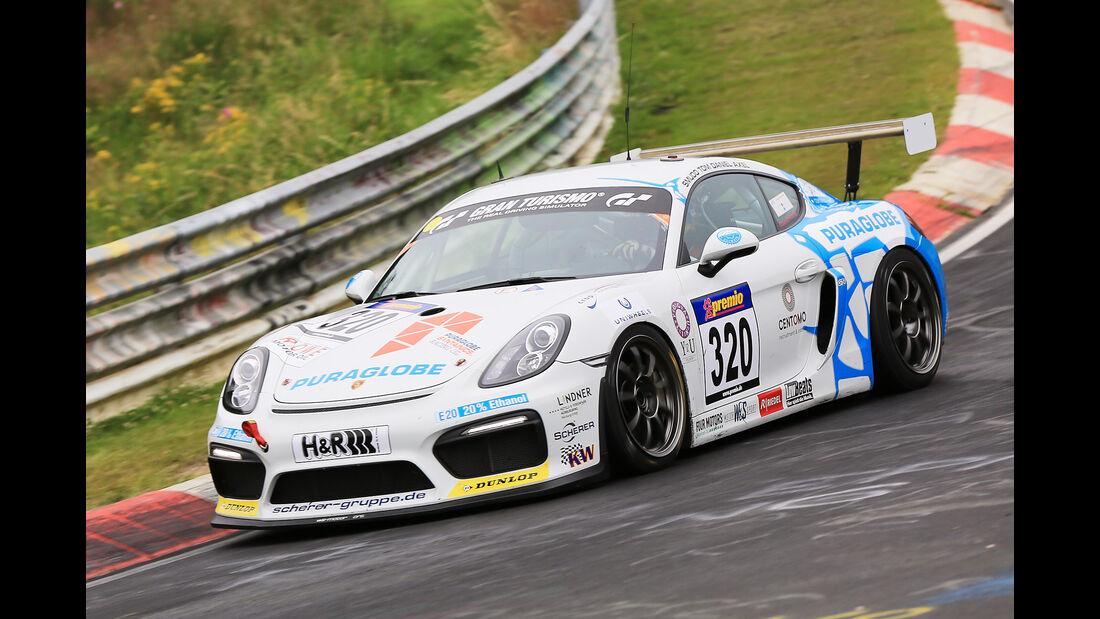 VLN - Nürburgring Nordschleife - Startnummer #320 - Porsche Cayman GT4 - SPAT