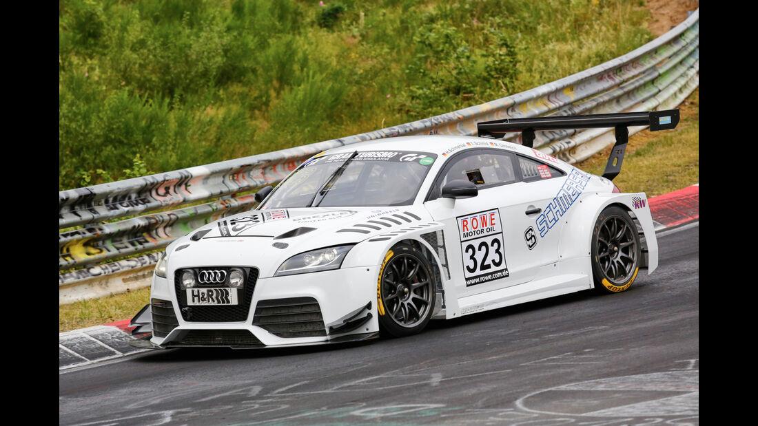 VLN - Nürburgring Nordschleife - Startnummer #323 - Audi TT RS - SP3T