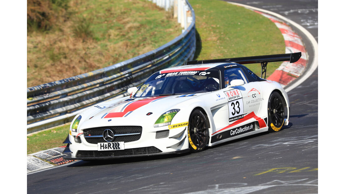 VLN - Nürburgring Nordschleife - Startnummer #33 - Mercedes-Benz SLS AMG GT3 - Car Collection Motorsport - SP9