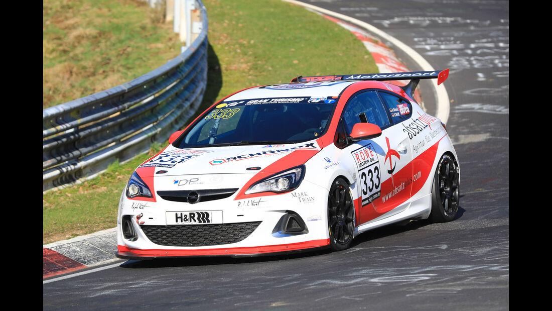 VLN - Nürburgring Nordschleife - Startnummer #333 - Opel Astra J - OPC Cup - SP3T