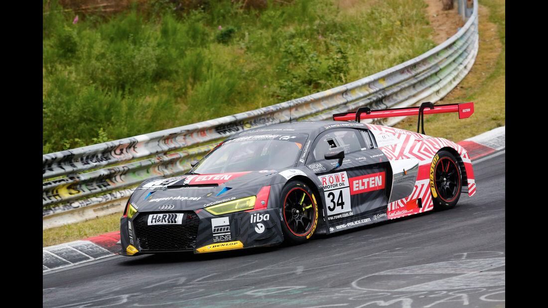 VLN - Nürburgring Nordschleife - Startnummer #34 - Audi R8 LMS - Car Collection Motorsport - SP9