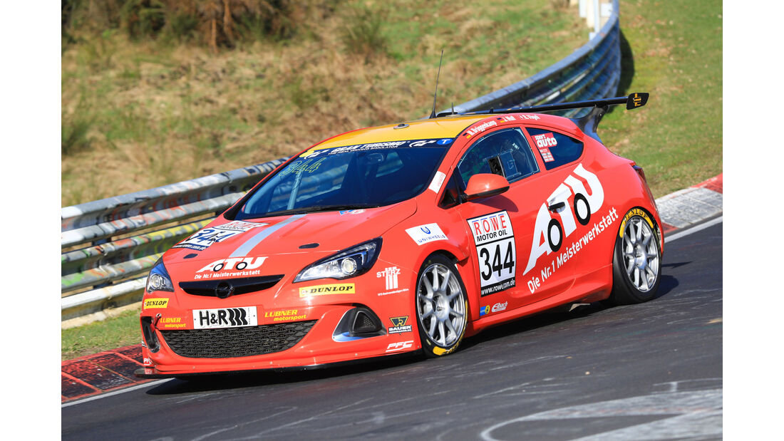 VLN - Nürburgring Nordschleife - Startnummer #344 - Opel Astra OPC Cup - Lubner Motorsport - CUP1