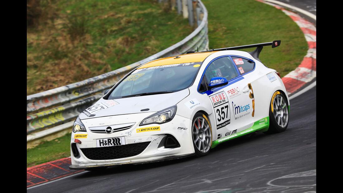 VLN - Nürburgring Nordschleife - Startnummer #357 - Opel Astra OPC Cup - Cup1