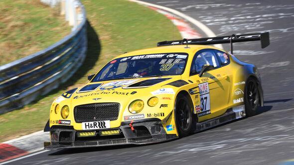 VLN - Nürburgring Nordschleife - Startnummer #37 - Bentley Continental GT3 - Bentley Team ABT - SP9