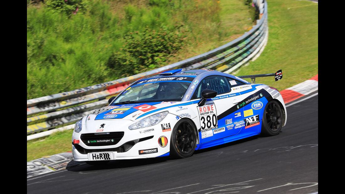 VLN - Nürburgring Nordschleife - Startnummer #380 - Peugeot RCZ Cup - MAK - SP2T