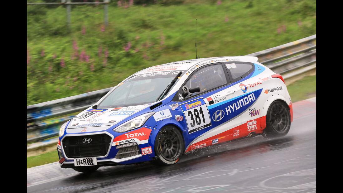 VLN - Nürburgring Nordschleife - Startnummer #381 - Hyundai I30Turbo - SP2T