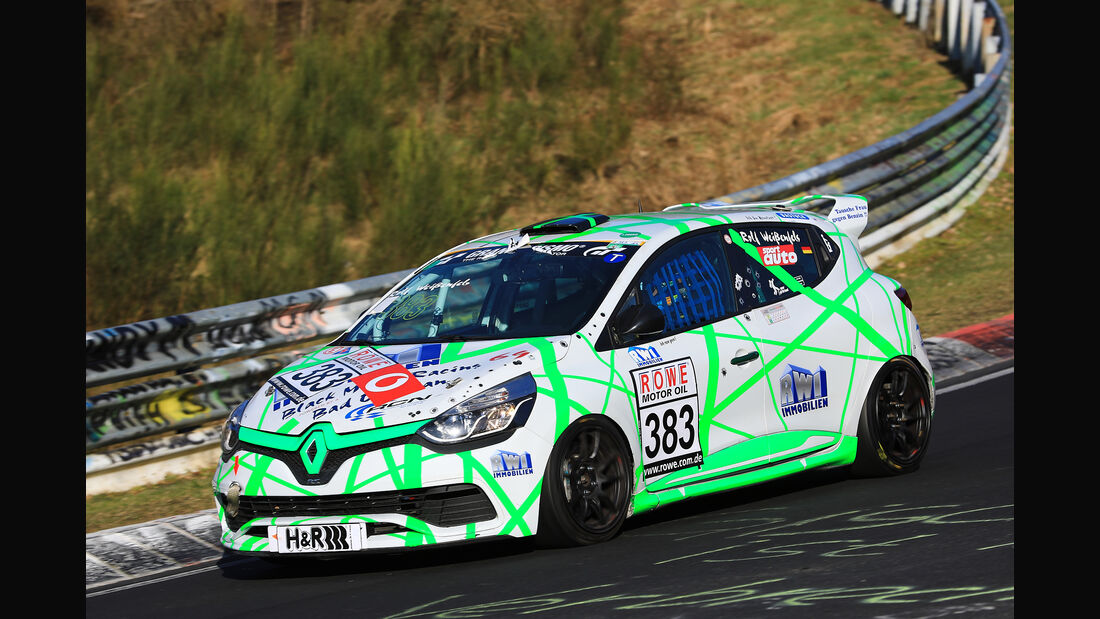 VLN - Nürburgring Nordschleife - Startnummer #383 - Renault Clio IV - MSC SINZIG e.V. im ADAC - SP2T