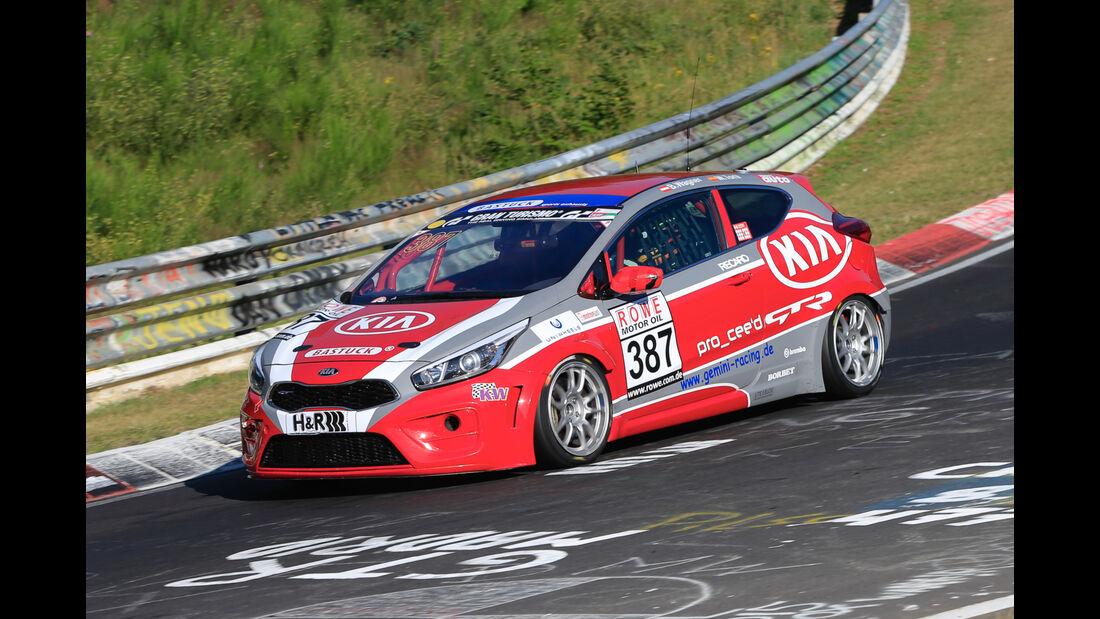 VLN - Nürburgring Nordschleife - Startnummer #387 - KIA Cee'd GT/R - SP2T