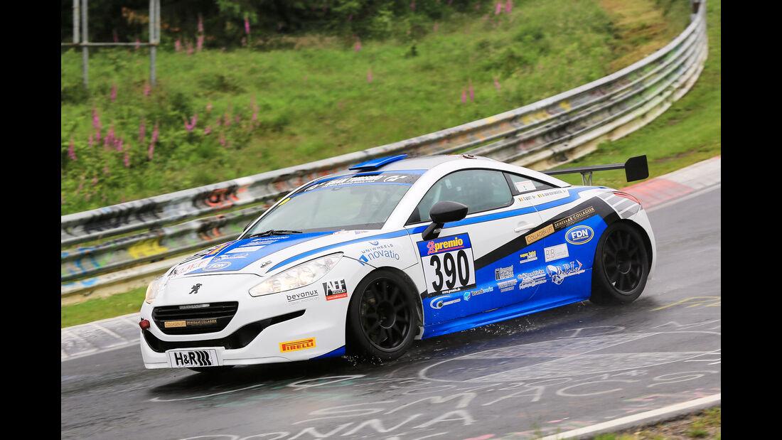 VLN - Nürburgring Nordschleife - Startnummer #390 - Peugeot RCZ Cup - SP2T