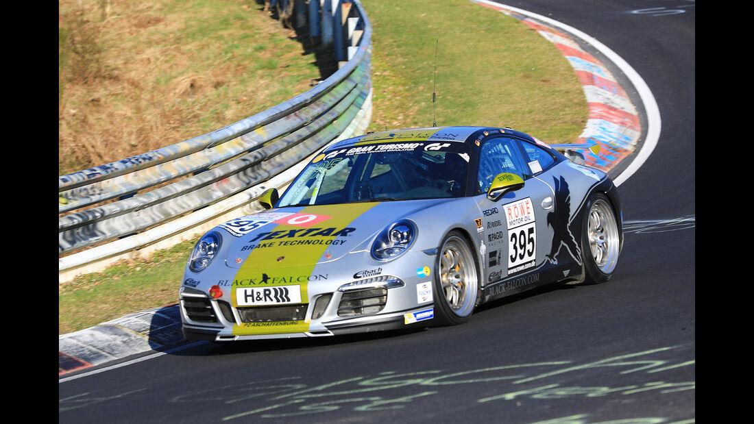 VLN - Nürburgring Nordschleife - Startnummer #395 - Porsche 911 Carrera - BLACK FALCON Team TMD Friction - V6