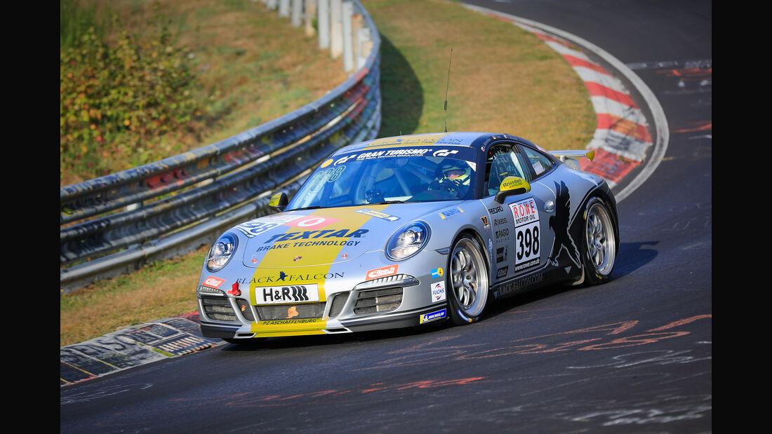 VLN - Nürburgring Nordschleife - Startnummer #398 - Porsche 911 Carrera - Black Falcon Team TMD Friction - V6