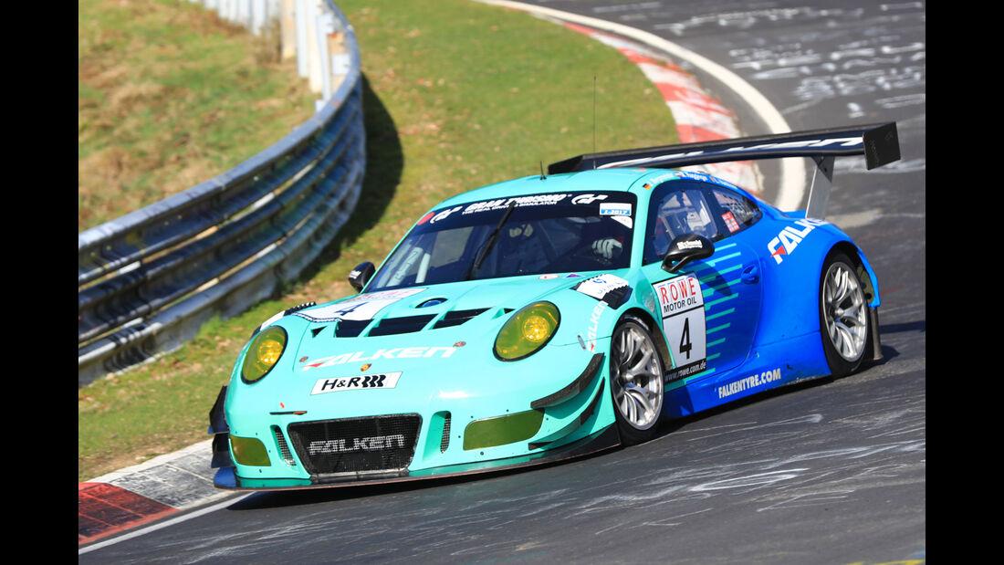 VLN - Nürburgring Nordschleife - Startnummer #4 - Porsche 911 GT3 R - Falken Motorsports - SP9