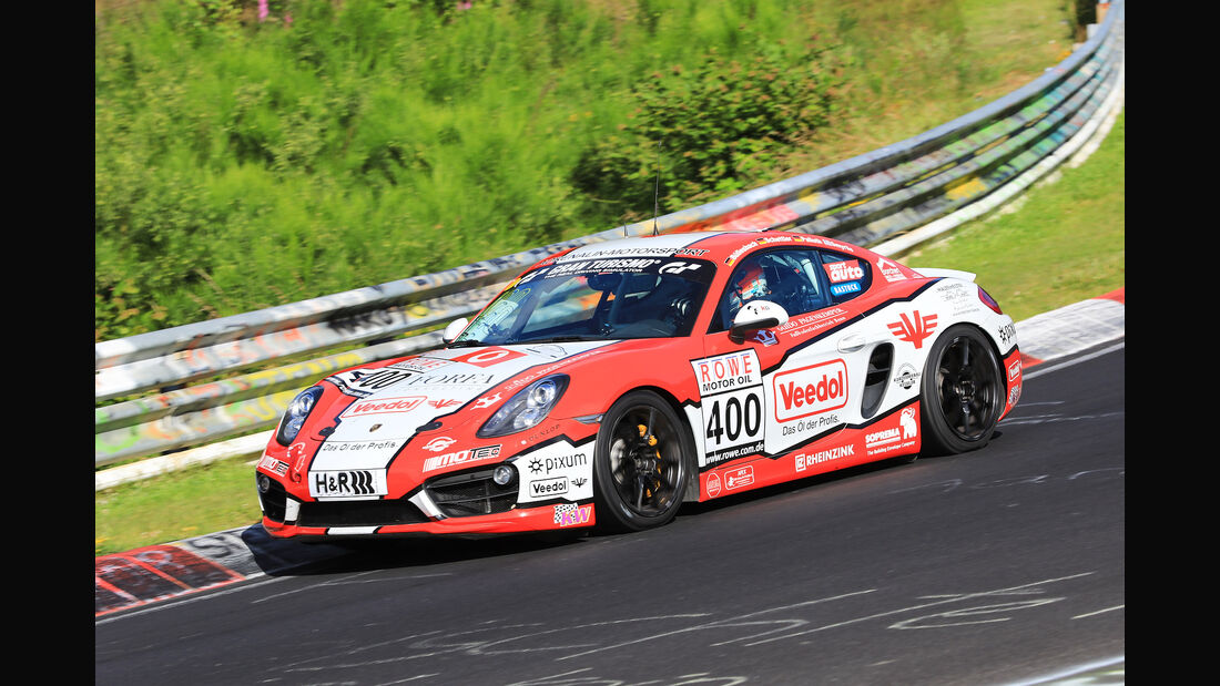 VLN - Nürburgring Nordschleife - Startnummer #400 - Porsche Cayman S - Pixum Team Adrenalin Motorsport - V6